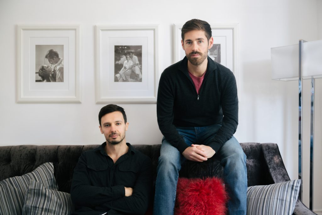 Sam and Richard of WinAbode photographed in Stroud Green North London for Davies & Davies Estate Agents blog
