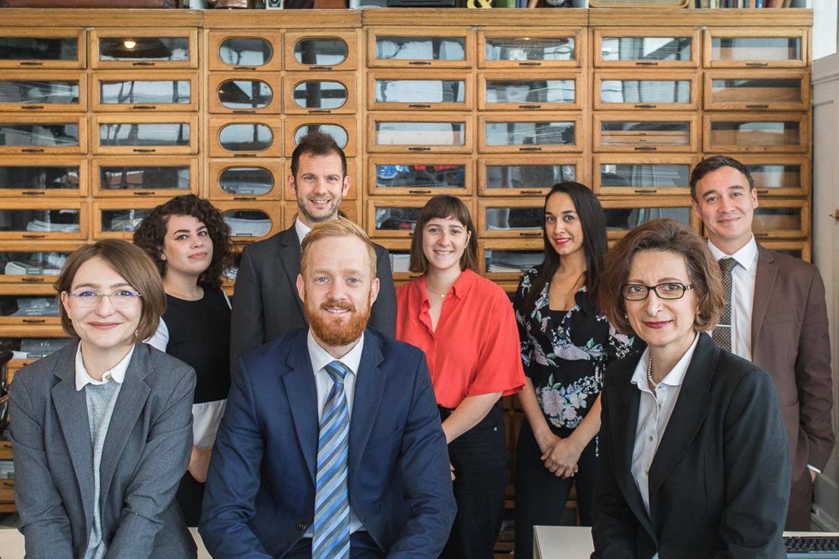 Some of the team at Davies & Davies Estate Agents in Finsbury Park and Stroud Green North London, showing that they support our local community.