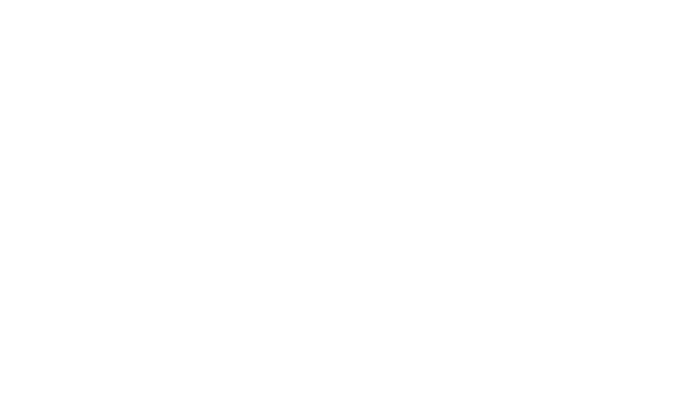 An illustration of a woman doing yoga by a tree and a family walking towards swings in a park.