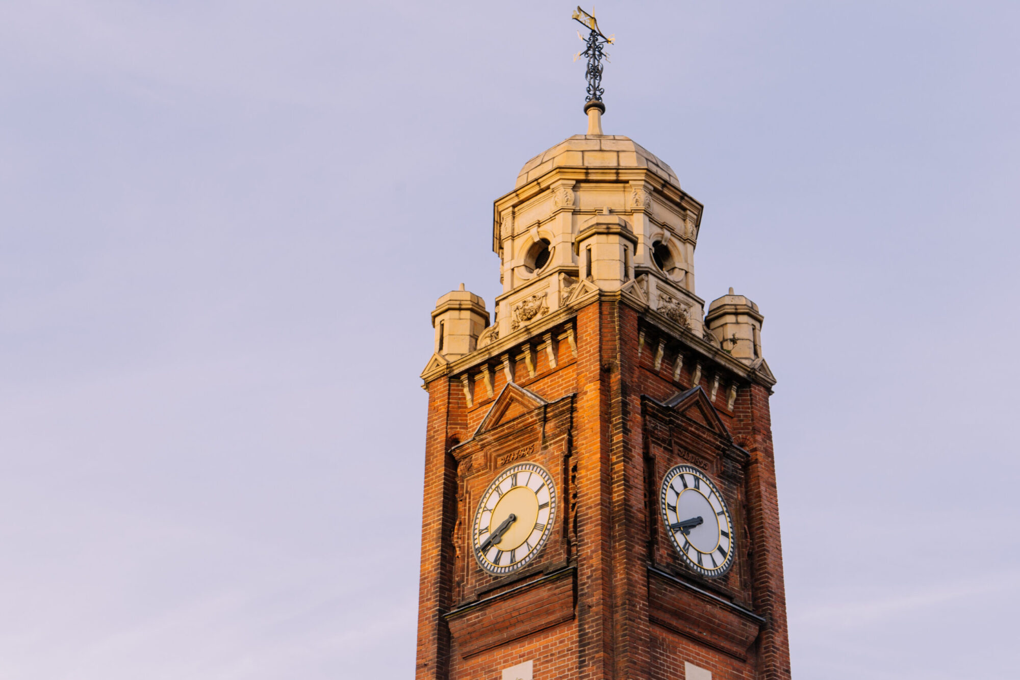 The Crouch End clock tower