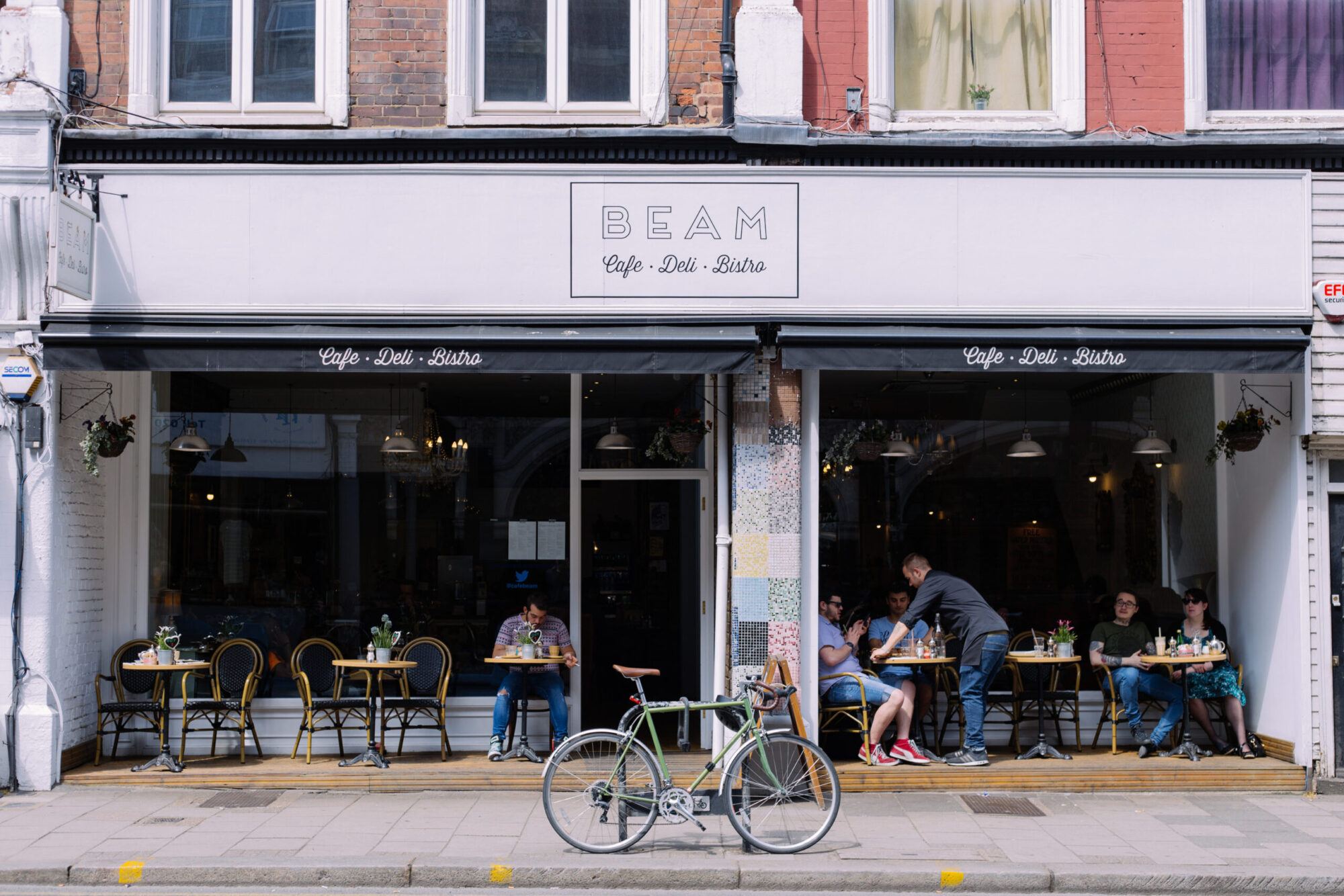Beam, a local cafe in Crouch End.