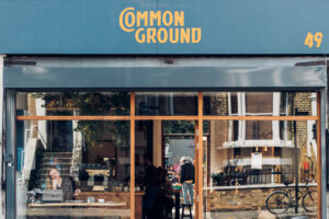The exterior of Common Ground