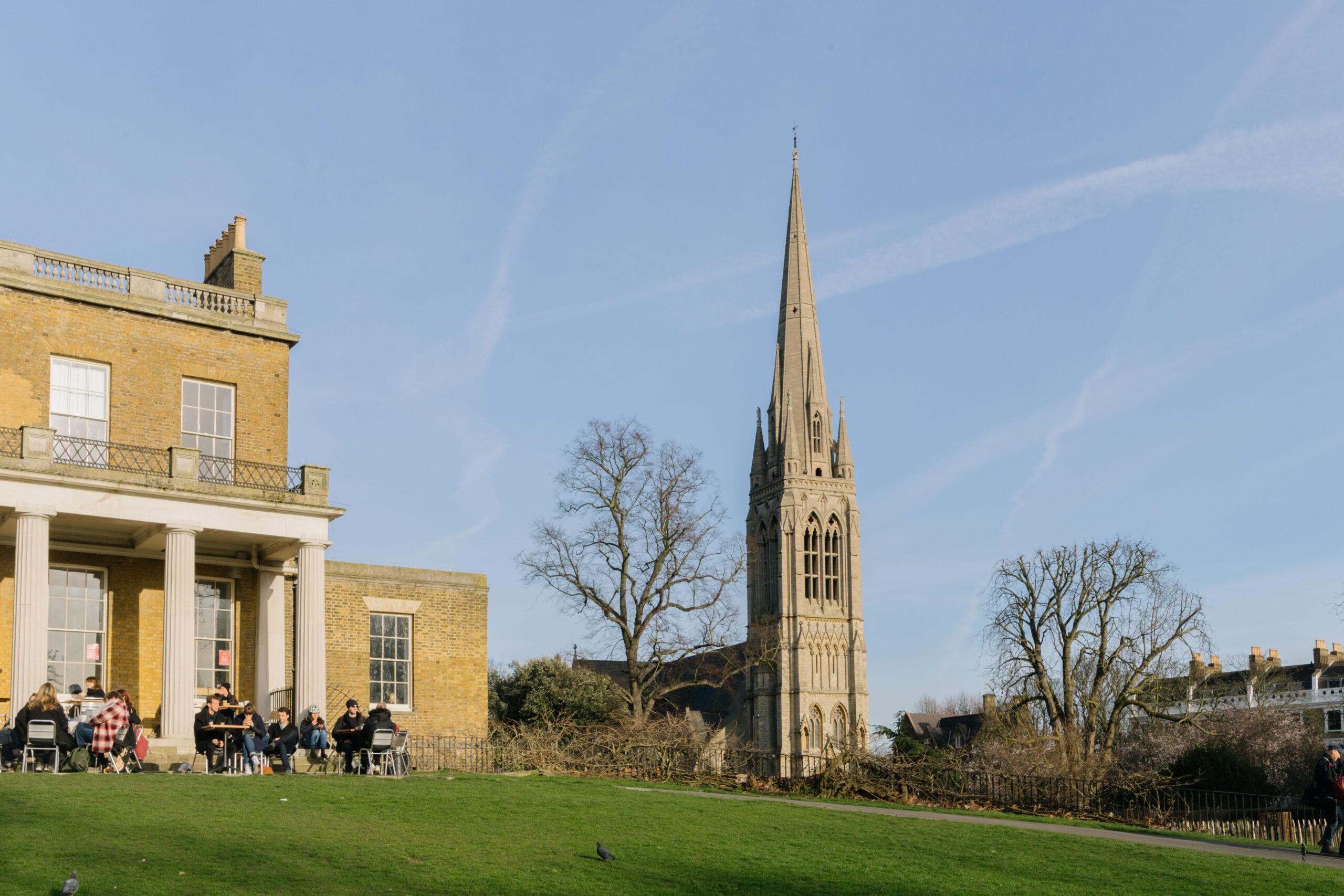St Mary's Church, Stoke Newington, Hackney.